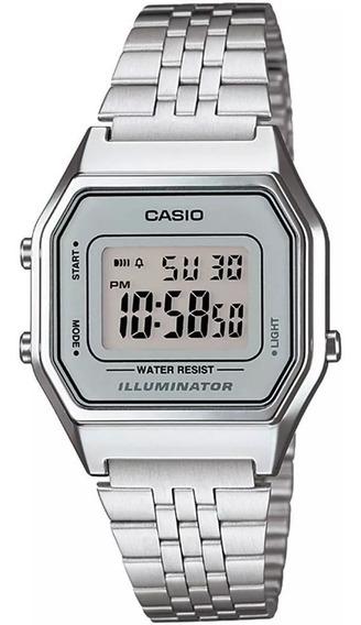 Relógio Casio La680wa-7df Unissex Original 1 Ano De Garantia