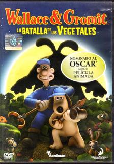 Wallace & Gromit La Batalla De Los Vegetales - Dvd Original