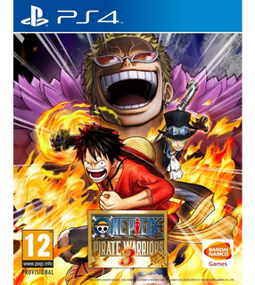 One Piece Pirate Warriors 3 - Ps4 - Digital -manvicio