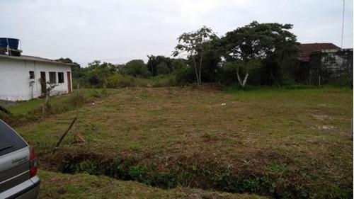 Terreno Aterrado Lado Praia Em Itanhaém - 3055   Npc
