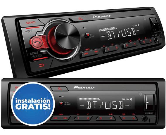 Stereo Pioneer 2019 Mvh S 215 Bluetooth Usb Aux Nuevo 295