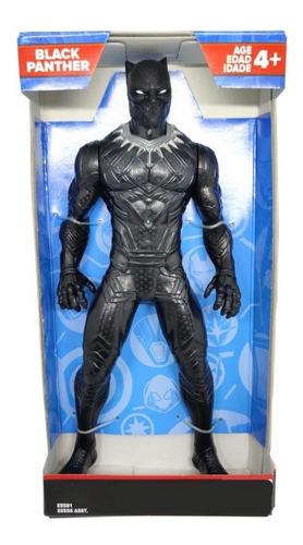 Boneco Pantera Negra 25cm Marvel Vingadores E5556 Hasbro