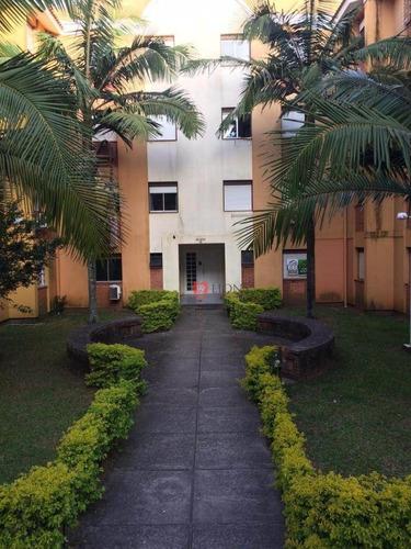 Apartamento Com 2 Dormitórios À Venda, 60 M² Por R$ 138.297 - Passo Das Pedras - Gravataí/rs - Ap0825