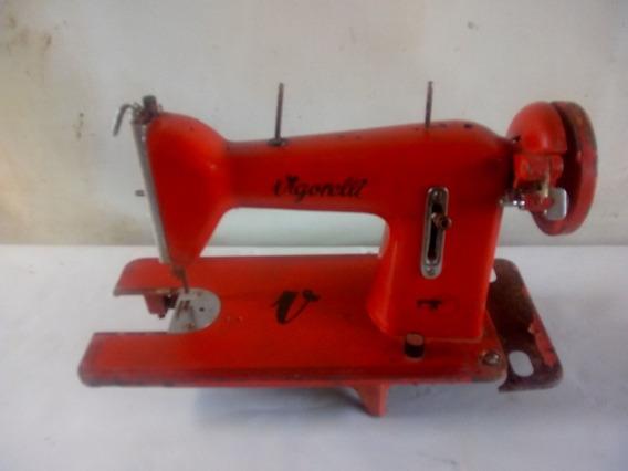 Máquina De Costura Vigorelli Antiga Coleção Ou Decoração