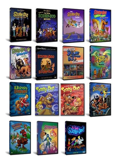 Kit Scooby Doo - Coleção Completa ( 1969 À 2017 ) - 55 Dvds