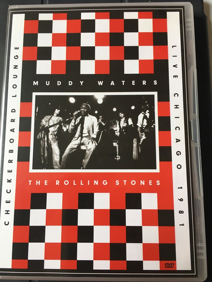 Dvd Muddy Waters - Rolling Stones - Checkerboard Lounge