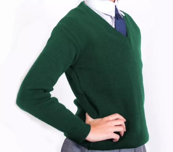 Combo Escolar Pullover + Camisa + Pollera - Talle Niño
