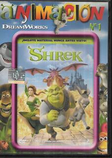 Shrek Con Material Adicional Coleccion Animacion 1 Avh Dvd