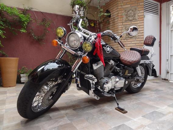 Shadow 750 Honda - Preta 44 Mil Km (2006)