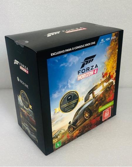 Jogo Forza Horizon 4 Xbox One +2 Dlc +boné Envio Limitado