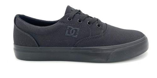 Imagem 1 de 7 de Tênis Dc Shoes New Flash Evo 2 Tx Preto/preto