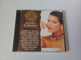 Angela Carrasco Cd Colección Espectacular 20 Éxitos Bmg 1993