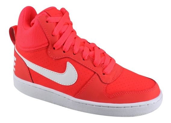 Tênis Nike Wmns Court Borough Mid 844906-010 | Katy Calçados