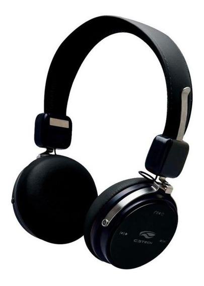 Fone De Ouvido E Microfone Bluetooth 4.2 Ph-b600bk - C3tech