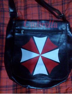 Morral Cuero Umbrella Resident Evil