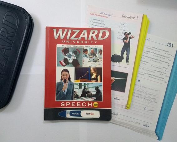 Kit Do Material Do Curso De Inglês Wizard W4