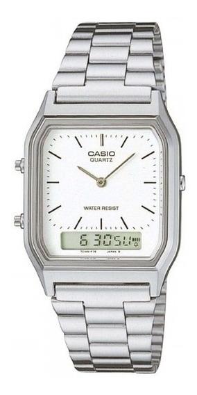 Relógio Casio Unissex Vintage Aq-230a 7dmq Anadigi