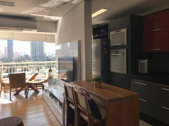 Apartamento Para Venda Em São Paulo, Brooklin, 1 Dormitório, 1 Banheiro, 1 Vaga - Pgn 007v_1-834678
