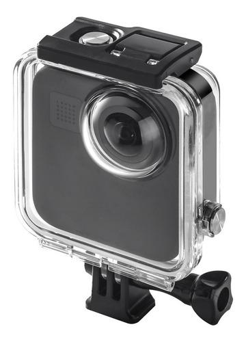 Imagen 1 de 7 de Carcasa Case Sumergible 45m Compatible Gopro Max Bdg