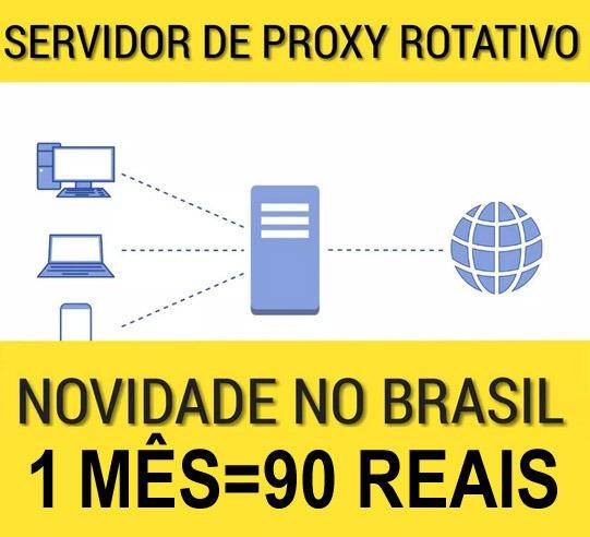 Servidor De Proxy Rotativo Novidade No Brasil Promoção