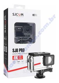 Câmera Esportiva Sjcam Sj8 Pro Wifi Original Full Set