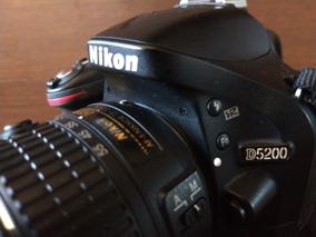 Nikon D 5200 Câmera E Lente 18-55mm