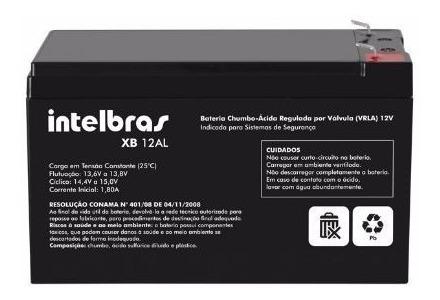 Bateria Selada 12v 7a Para Alarmes 1º Linha Intelbras