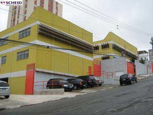 Imagem 1 de 8 de Galpão Comercial No Campo Belo - Mr64378