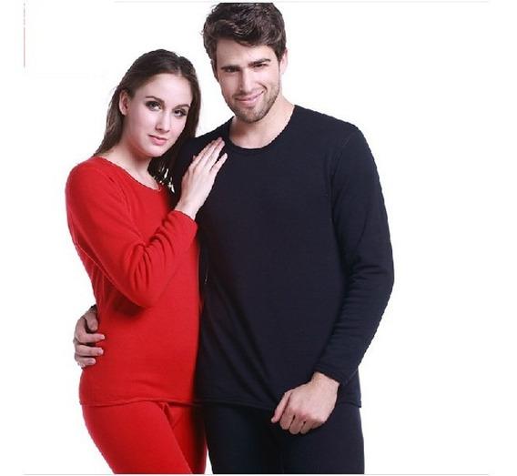 Conjunto Térmico Blusa+calça Frio Neve Plus Size+meia+luva