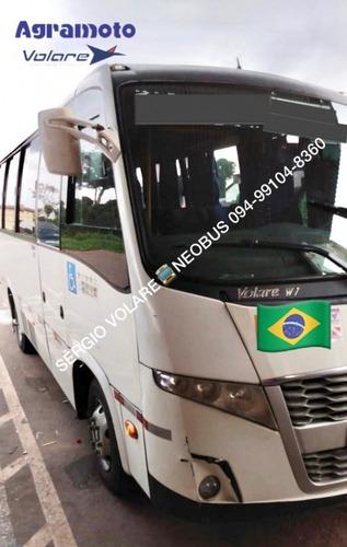 Micro Ônibus Volare W7 Mo Executivo Cor Branca Ano 2013/201