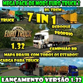 Euro Truck Simulator 2 Brasil 2018 Jogo Pc - Mapa Brasil