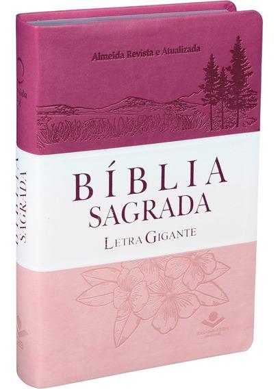 Bíblia Sagrada Letra Gigante Feminina Com Indice Promoção