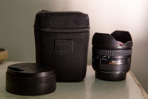 Lente Sigma 15mm 2.8 Canon