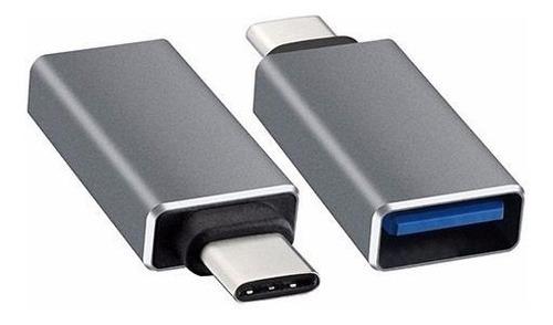 Adaptador Usb-c 3.1 Type C A Usb 3.0 Macbook 2015 Gold