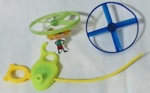 Juguete Patitas Lanza Discos Volador  Niños Retro