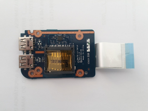 Placa Filha Usb Card Rider Notebook Avell Qal51 Ls 7871p