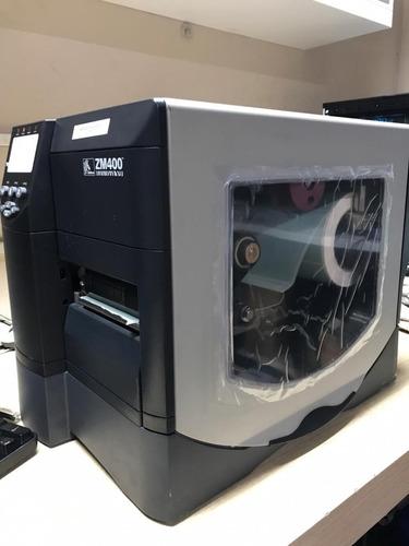 Zm400 203dpi Impressora Excelente Toda Revisada Cabeça Nova