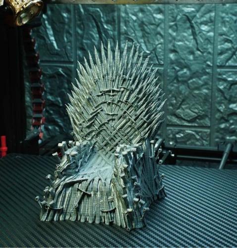 Imagem 1 de 3 de Iron Throne 14cm - Game Of Thrones