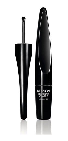Delineador Ojos Colorstay Exactify Liquid Liner Black Revlon