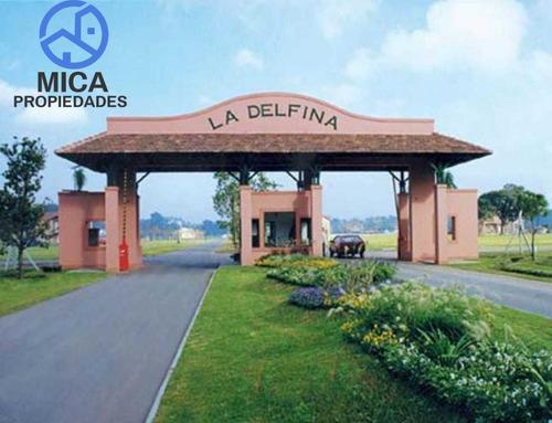 Venta - Lote En La Delfina, Pilar