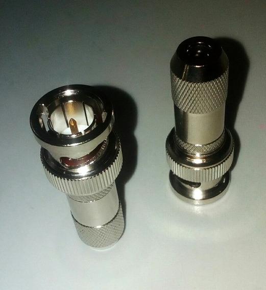 Conector Bnc Macho Para Cable Micro Coaxial Flex 3/75