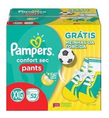 Fralda Pampers Confort Sec Pants Tamanho Xxg 52 Unidades