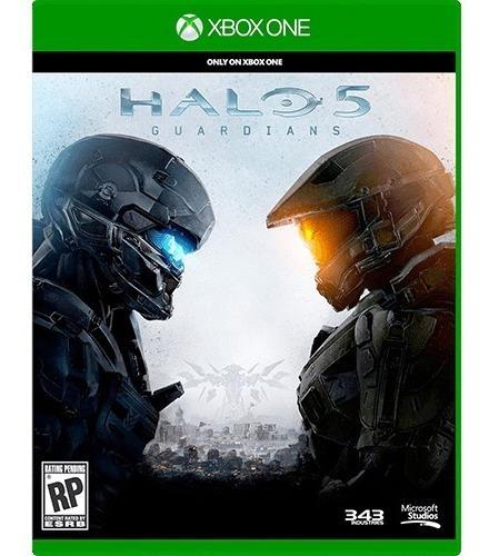 Xbox One Halo 5 Guardians Mídia Física Novo Lacrado - Dublado Em Português