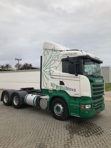 Imagem 1 de 6 de Scania Streamline R440 6x2 2015 Automático Completo
