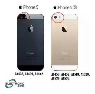 Carcaça Aro Traseira iPhone 5 5g 5s Botões Laterais Nova