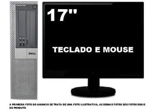 Imagem 1 de 5 de Computador Dell Optiplex 980 Core I5 8gb 120gb Ssd