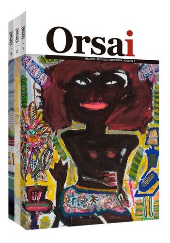 Imagen 1 de 4 de Orsai Nueva Temporada, Ejemplares 1 A 3 (2017-2018)