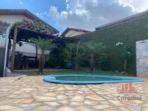 Linda Casa Com 3 Dormitórios À Venda, 140 M² Por R$ 620.000 - Vila Dainese - Americana/sp - Ca2827