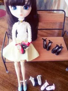 Sapatinho De Salto Artesanal Para Boneca Blythe