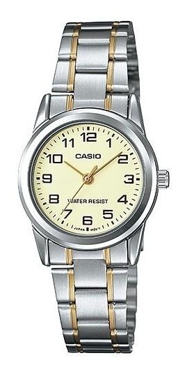 Relógio Casio Feminino Ltp-v001sg-9budf